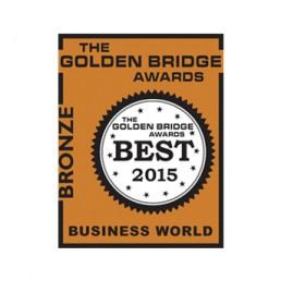 2015 Golden Bridge Business and Innovation Awards Finalist