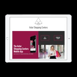 Astor Shopping Advertising App