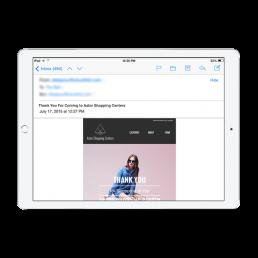 Astor Shopping Email App