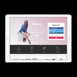 Astor Shopping Welcome Portal App
