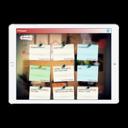 Cilantro Pinboard App