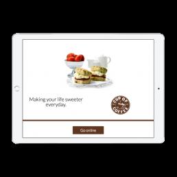 Cup of Coffee Advertising App