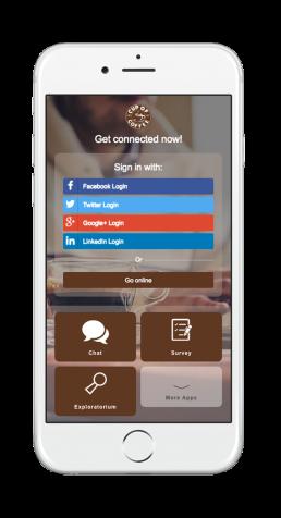 Coffee Welcome Portal Mobile