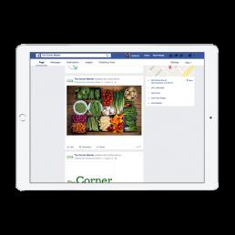 The Corner Market Social Media App