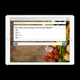 The Corner Market Survey App