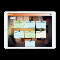 London University Pinboard App