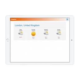 London University Weather App