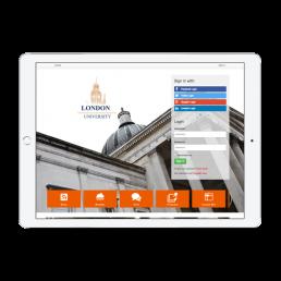 London University Welcome Portal App