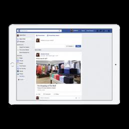 The Mall Social Media App