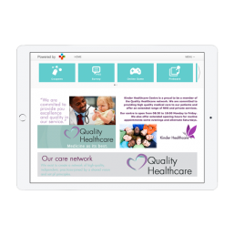 Quality Healthcare Welcome Portal App