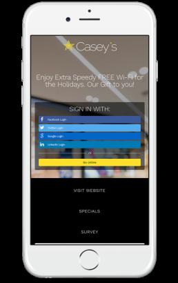 Casey Welcome Portal App