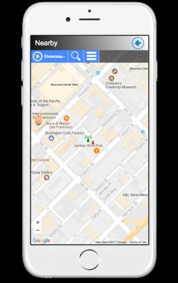 public rails nearby app