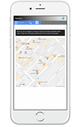 Be Work Nearby App