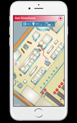 Public Rails Indoor Wayfinding App