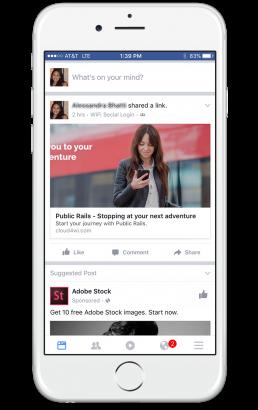 public rails social media app