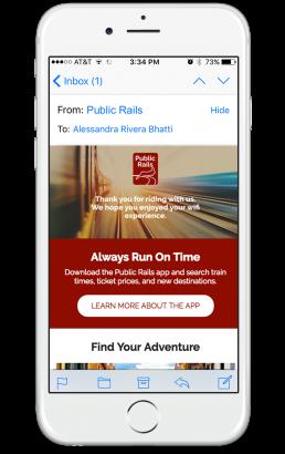 public rails email