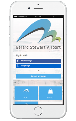 Airport Welcome Portal