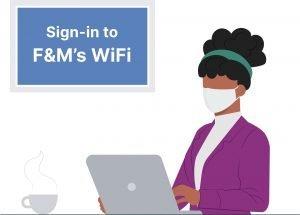 enterprise guest wifi log on