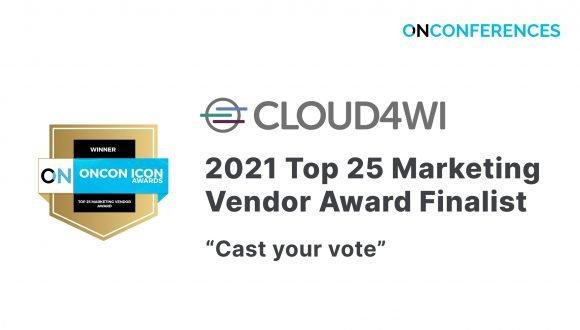 OnCon 2021 Top 25 Marketing Vendor Award Finalist