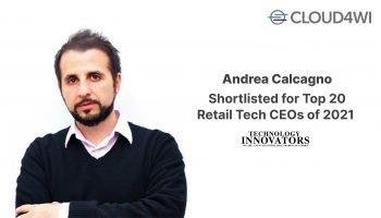 Andrea Calcagno Top Retail Tech CEO