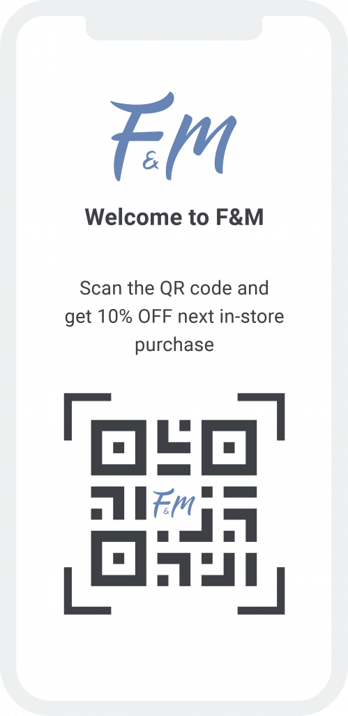 drive subscribers using QR code