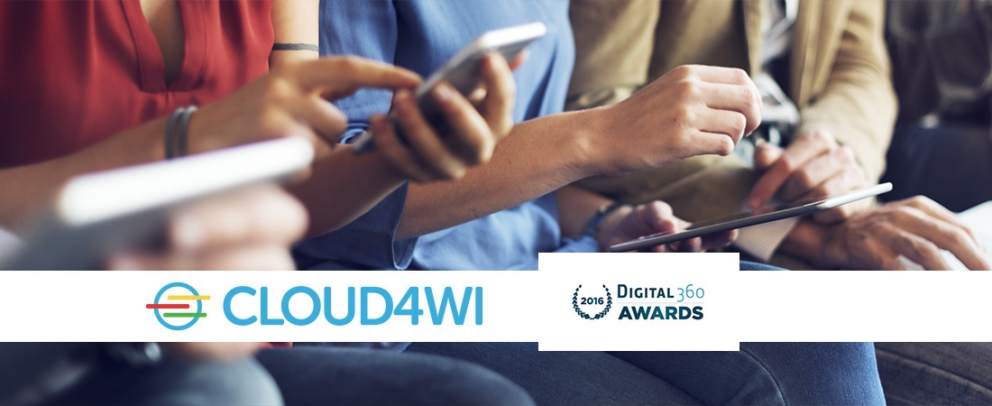 Cloud4Wi Wins the Digital360 Award for Retail